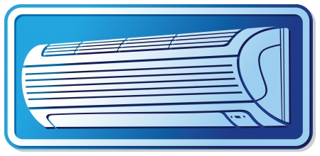 conditioning: air conditioner icon  air conditioning symbol, air conditioner label, air conditioner sign