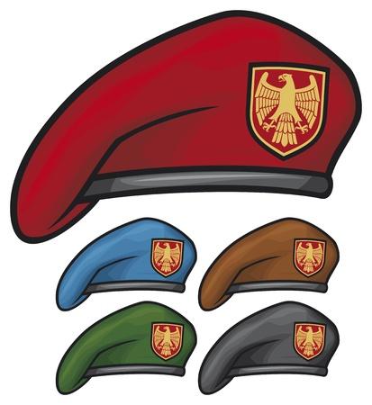boina boina militar colección