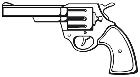 war on terror: handgun  pistol vector, pistol gun, old revolver