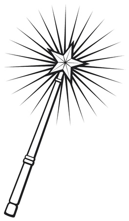magic wand Stock Vector - 18660582