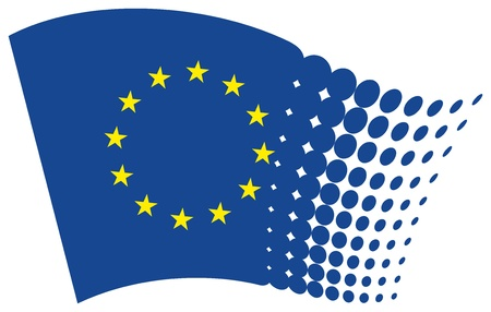 european union flag (eu) Vector