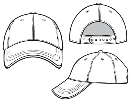 gorra de beisbol Ilustración de vector