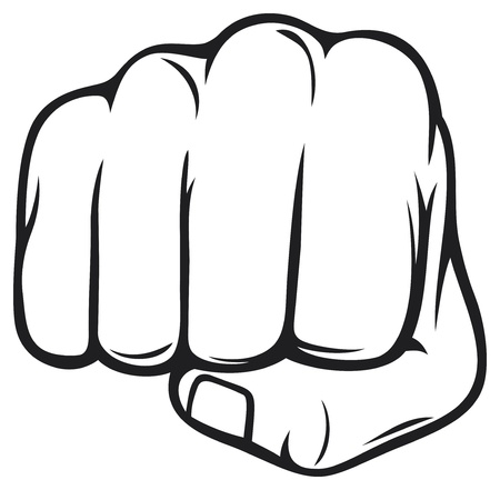 business symbols metaphors: fist
