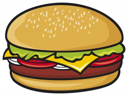 hamburger Stock Vector - 19189249
