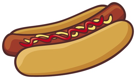 hot dog Stock Vector - 19189222