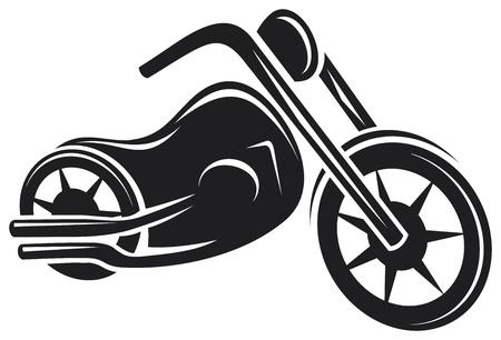 motociclista: motocicletta Vettoriali