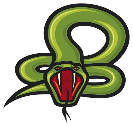 serpiente cobra: serpiente Vectores
