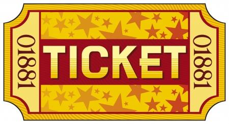 raffle ticket: ticket