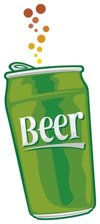 irish beer label: beer can