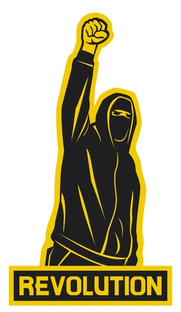 혁명의 논증, 훌리건, 항의 남자