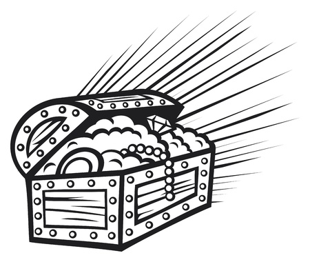 treasure chest Stock Vector - 20010571