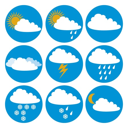 Weather icons Stock Vector - 20010574
