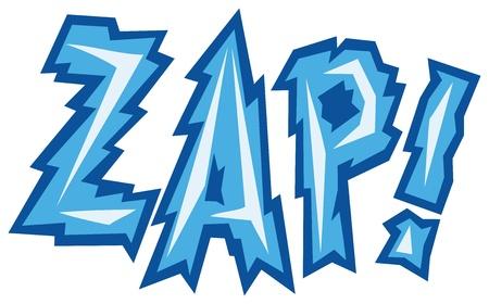 cartoon - zap  comic book Stock Vector - 20010548