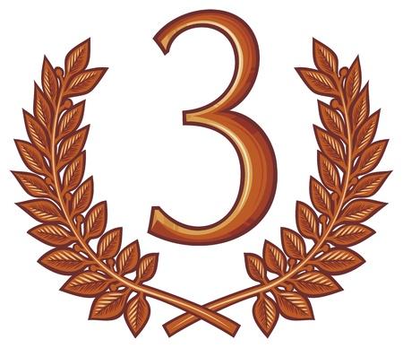 tercer puesto número tres