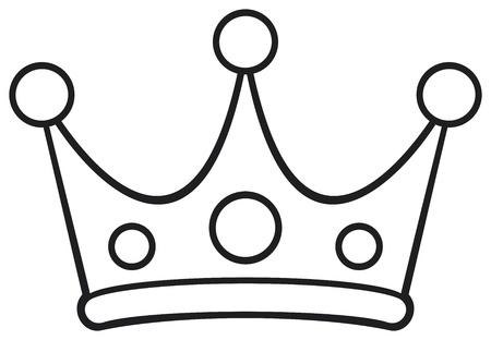 crown of light: crown Illustration