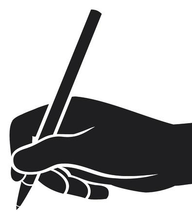 receptionist: hand writing