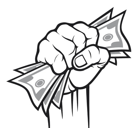fists: Money in the hand  Hand with money, Hand holding Banknotes