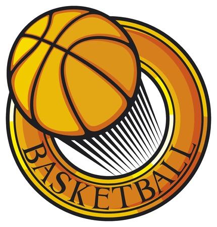 basketball club emblem, design, symbol Vector