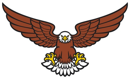 cross and wings: Eagle