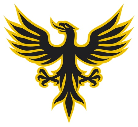 heraldic symbols: Eagle