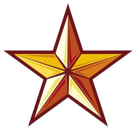ster: ster Stock Illustratie