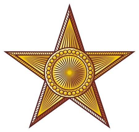 socialist: star  medal, order