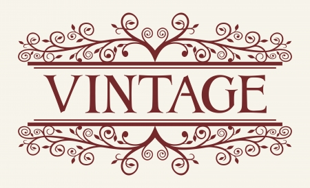 vintage style  vintage style Stock Vector - 20303463