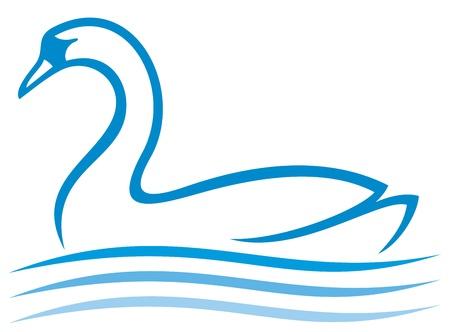 swan lake: swan
