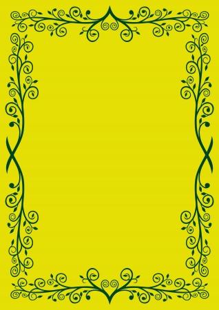 floral frame Stock Vector - 20294733