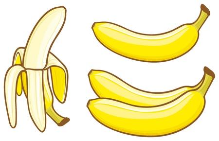 banana peel: banana
