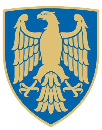 eagle  coat of arms, emblem  Vector
