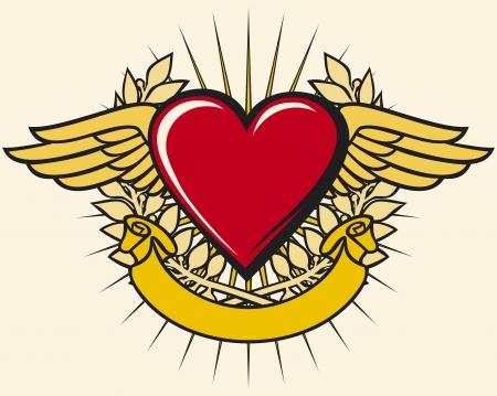 corazon: Coraz?n con alas
