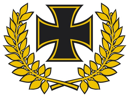 teutonic: Iron cross Illustration