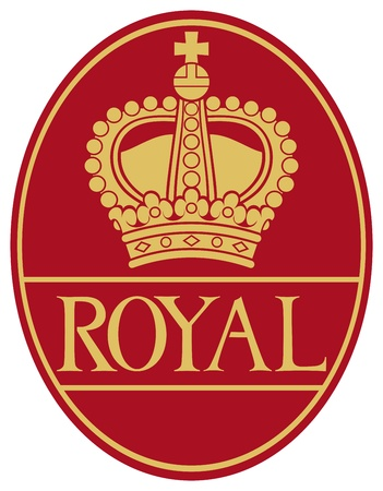 royal crown symbol Vector