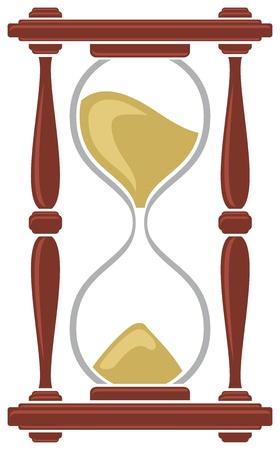 sand clock: reloj de arena