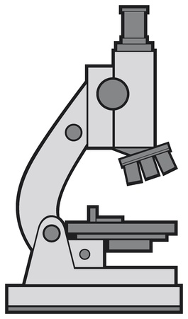 microscope vector Stock Vector - 20591542