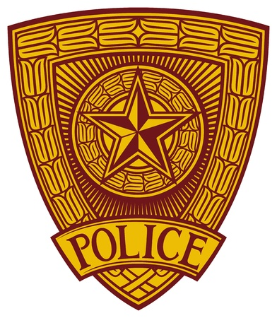 enforcement: police badge