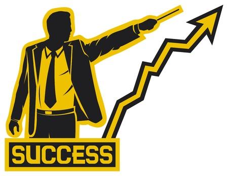 successful businessman  success