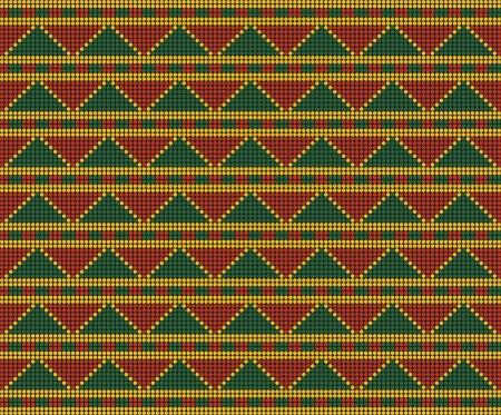 entwine: Ornamenti di ispirazione Africa, sfondo, pattern senza soluzione di continuit� Vettoriali