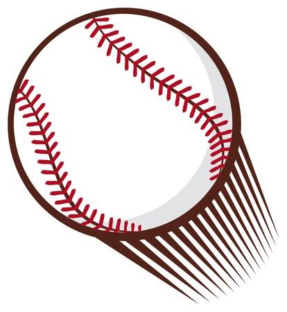 honkbalbal Stock Illustratie