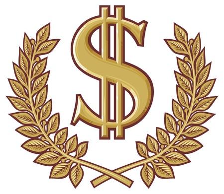 dollar symbol Stock Vector - 20859456