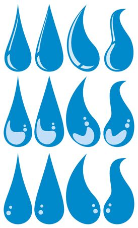water droplets Stock Vector - 20859554