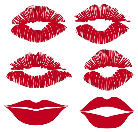 color lips Vector