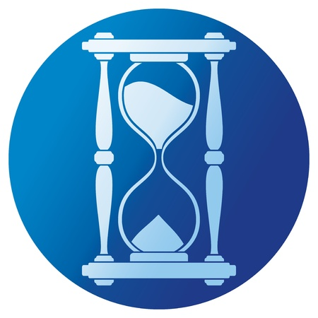 sand clock  hourglass  Stock Vector - 21060622