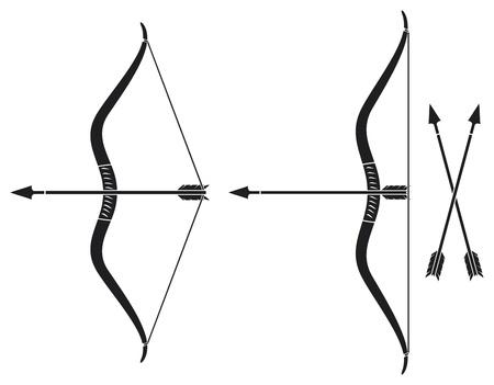 arc fleche: arc et la fl?che