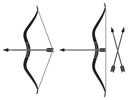 traditional weapon: bow and arrow