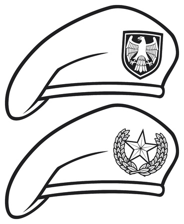 beret: military beret  beret collection