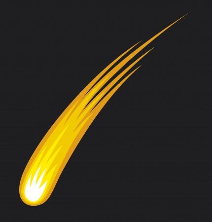 혜성 일러스트