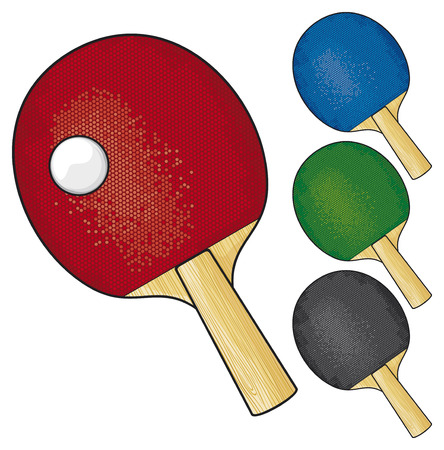 score table: table tennis rackets and ball  rackets for playing table tennis, racket and ball ping-pong table