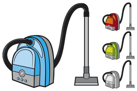 vacuum cleaner Stock Vector - 23126216